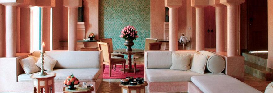 une décoration orientale