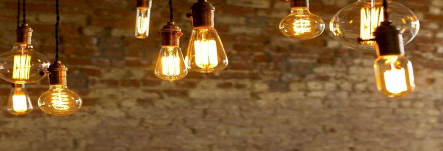 Ampoules design : les modèles en vogue