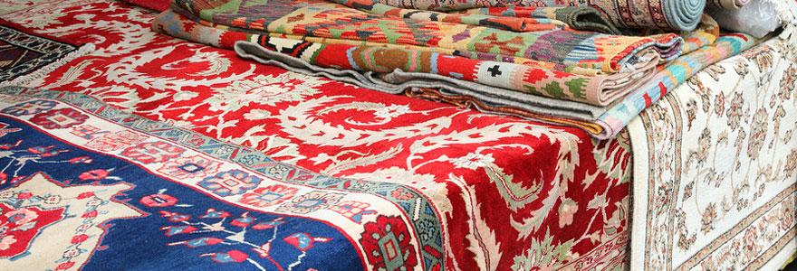 tapis motif ethnique